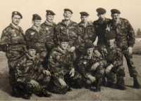 Groupe de paras en 1959