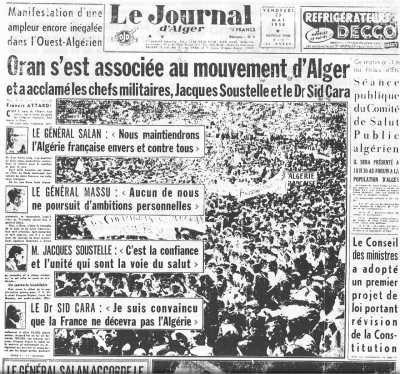 22 Mai 1958 ---- l'Insurrection gagne ORAN