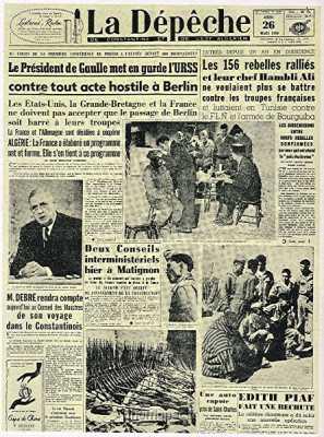 26 Mai 1958  Ralliement des 156 hommes d'Ali HAMBLI