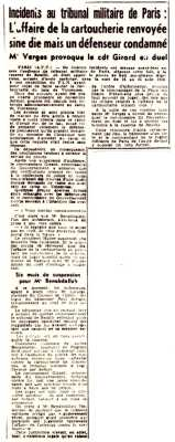 16 Septembre 1959 