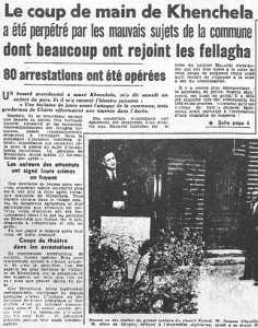 10 Novembre 1954 KENCHELA