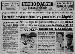 21-04-1961 Le Putsch