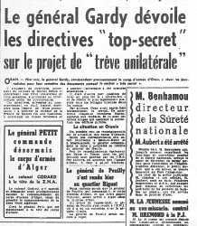 23-04-1961 Le Putsch