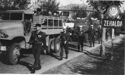 Avril 1961 - Le PUTSCH le 1er REP quitte ZERALDA  pour sa dissolution