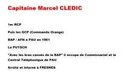 Capitaine Marcel CLEDIC