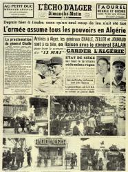 Journal L'Echo d'Alger
