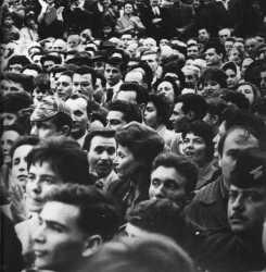 la foule au FORUM