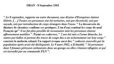 ORAN - 8 SEPTEMBRE 1962