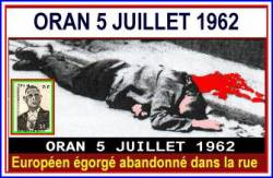 Highlight for Album: ORAN - 5 JUILLET 1962