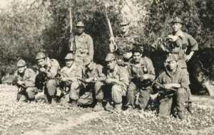 Equipe posant pour la photo
