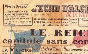 Highlight for Album: L'ECHO d'ALGER du 8 Mai 1945
