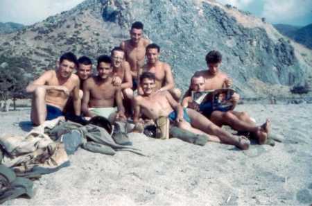 Centre de repos du Cap Djinet en 1962