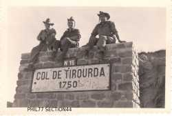 Col de TIROURDA - 1750 m