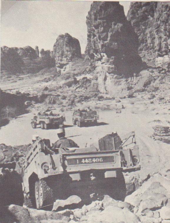 patrouille dans le sud Saharien