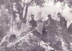 Bivouac en Kabylie