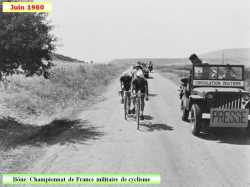 Juin 1960  Championnat de France Militaire  de Cyclisme