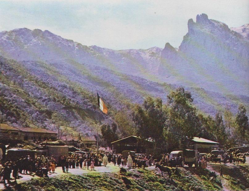 Mai 1962 - Quelquepart en Kabylie