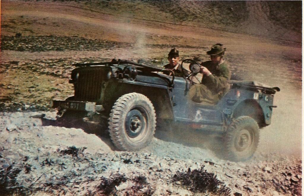 Patrouille en jeep caporal ZATAR Harka 32 - ARRIS - 1956