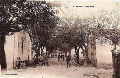 ABBO - Une rue vers 1900