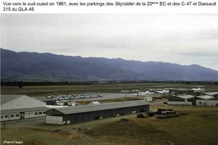 BOUFARIK - La Base en 1961