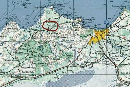 ORAN - BOU-SFER - LES ANDALOUSES  BOU TLETIS - SAINT ANDRE - ROSEVILLE SAINTE CLORILDE - MISSSERGHIN -  LA SENIA - VALMY - SAINT GEORGES