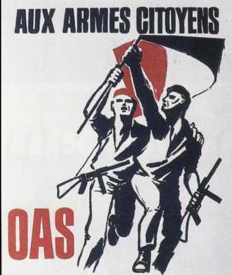 Affiche OAS de 1961