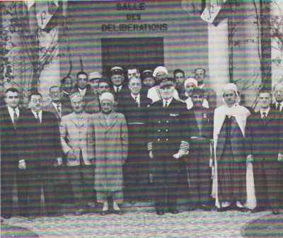 AFFREVILLE  Le Conseil Municipal de 1947