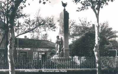 AFFREVILLE Le Monument aux Morts