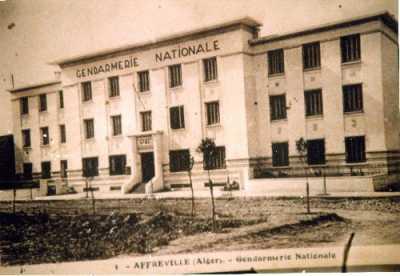 AFFREVILLE - La Gendarmerie