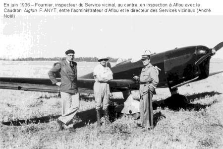 AFLOU - 1936 -Avion Caudron Aiglon