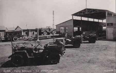 ALMA - Le Camp Bonvalot La Station service