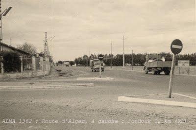 AMA - Route d Alger  A gauche Le Fondouk