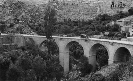 Le pont d'Arris