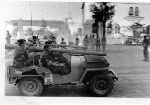 les jeeps avec un canon 106 sans recul