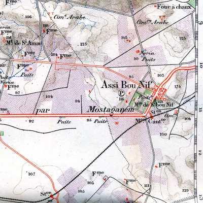 ASSI-BOU-NIF - Carte en 1901