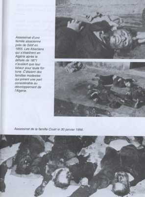 SETIF - 30 juillet 1956 assassinat le famille CRUET d'origine Alsacienne