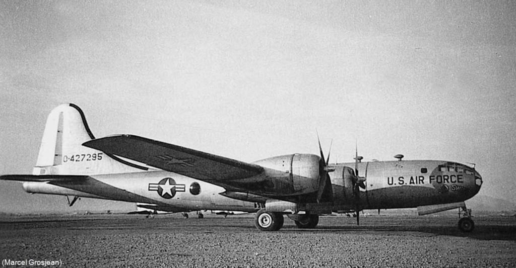 1955 - MAISON BLANCHE  BOEING B29