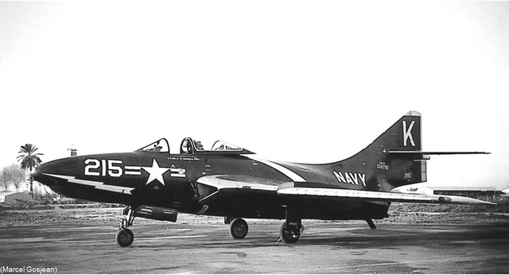 1955 - MAISON BLANCHE - GRUMMAN F9F-8 Panther