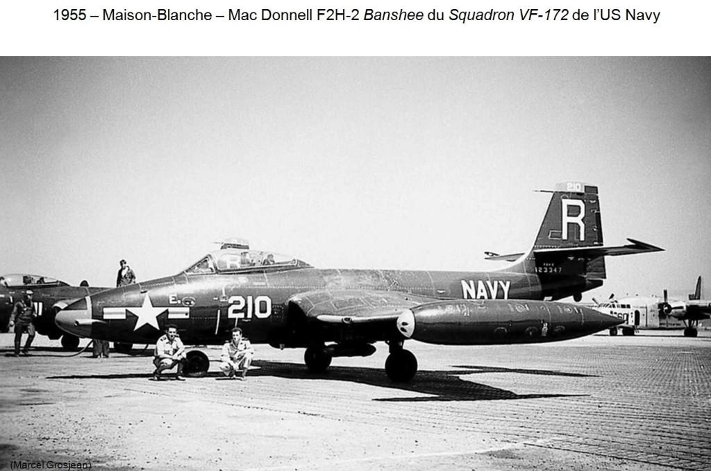 1955 - MAISON-BLANCHE - Mac DONNELL F2H-2 Banshee