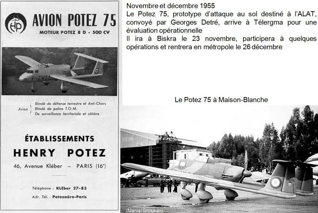 1955 - MAISON BLANCHE - POTEZ 75