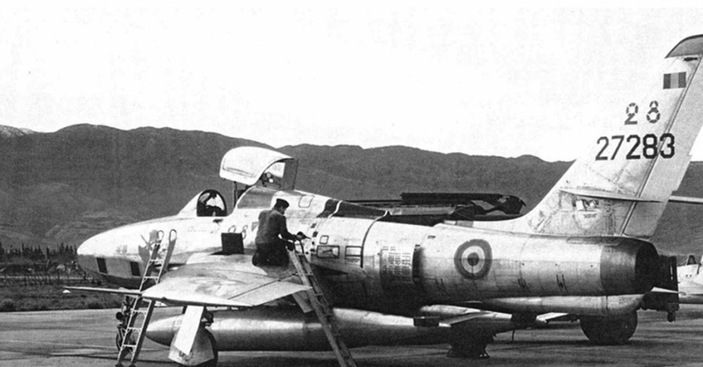1955 - MAISON BLANCHE  Thunderflash RECO/PHOTO
