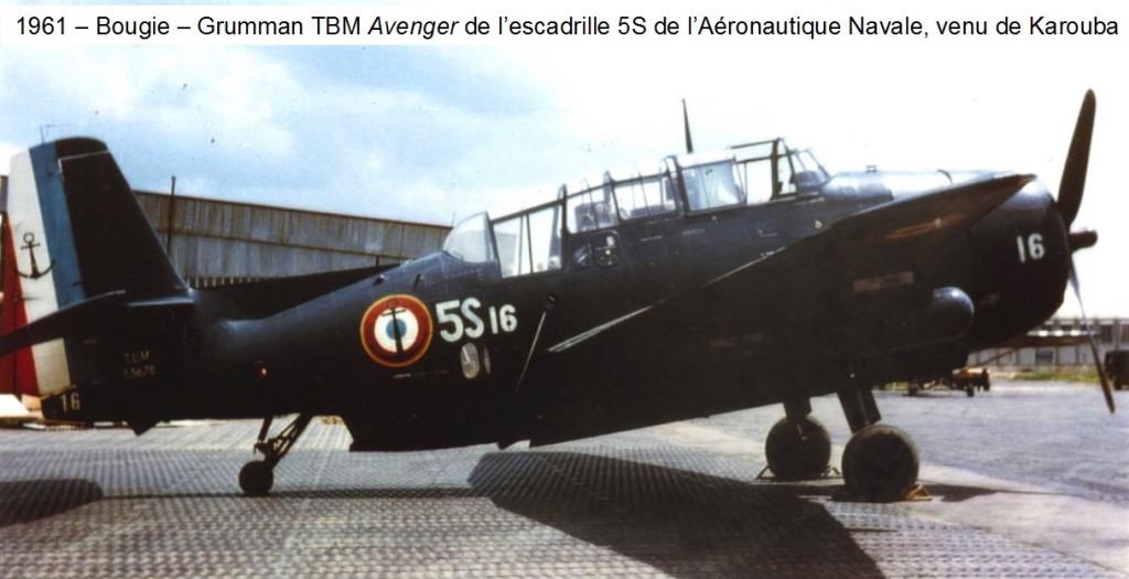 1961 - BOUGIE - GRUMMAN TBM AVENGER