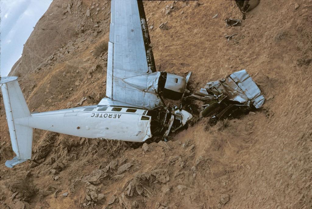 NEGRINE - Avion abattu