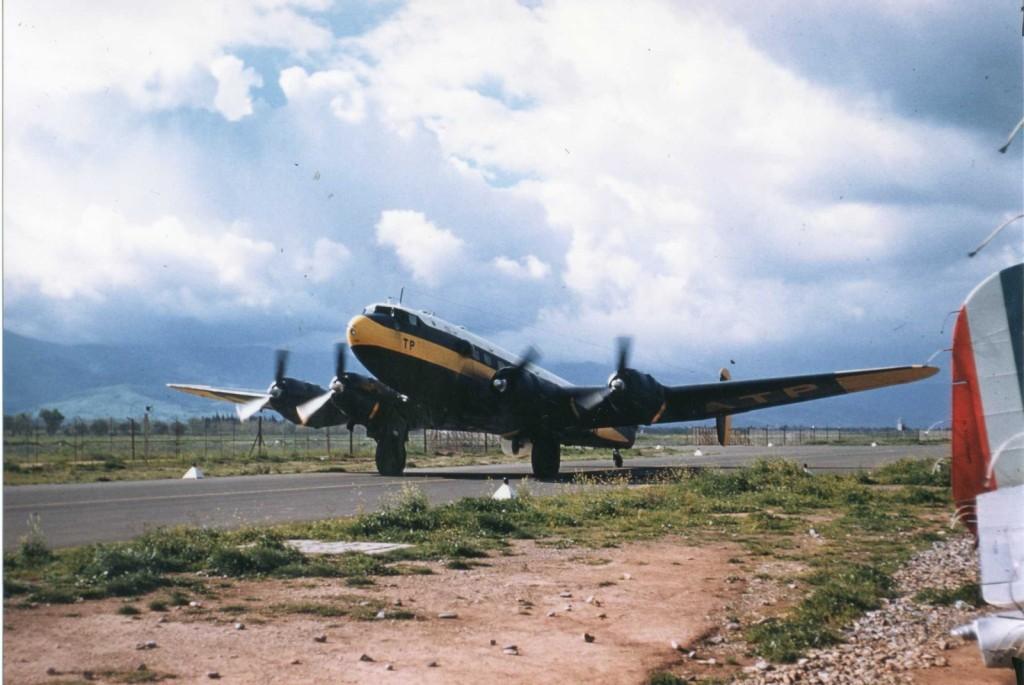 SE-161 LANGUEDOC sur la base de BOUFARIK en 1958