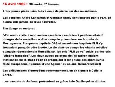 15 Avril 1962