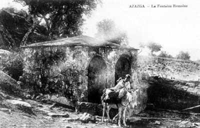 AZAZGA - La Fontaine Romaine