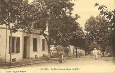 AZAZGA - La Gendarmerie