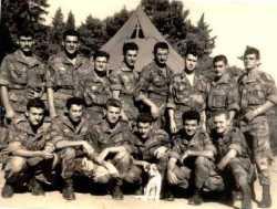 Paras de la BAP en 1958