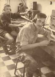 Roger SINAEVE (classe 1960 1/C), transmissions BAP/AFN de Blida.  Photo R. Sinaeve.
