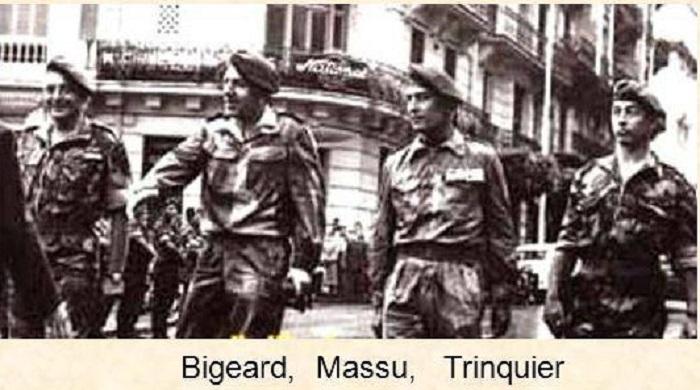 Bigeard, Massu, Trinquier